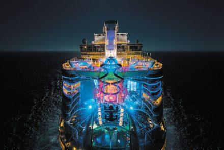 Maior navio de cruzeiro