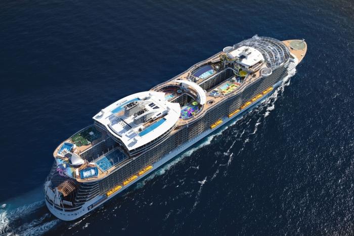 Symphony of the sea o maior navio de cruzeiro