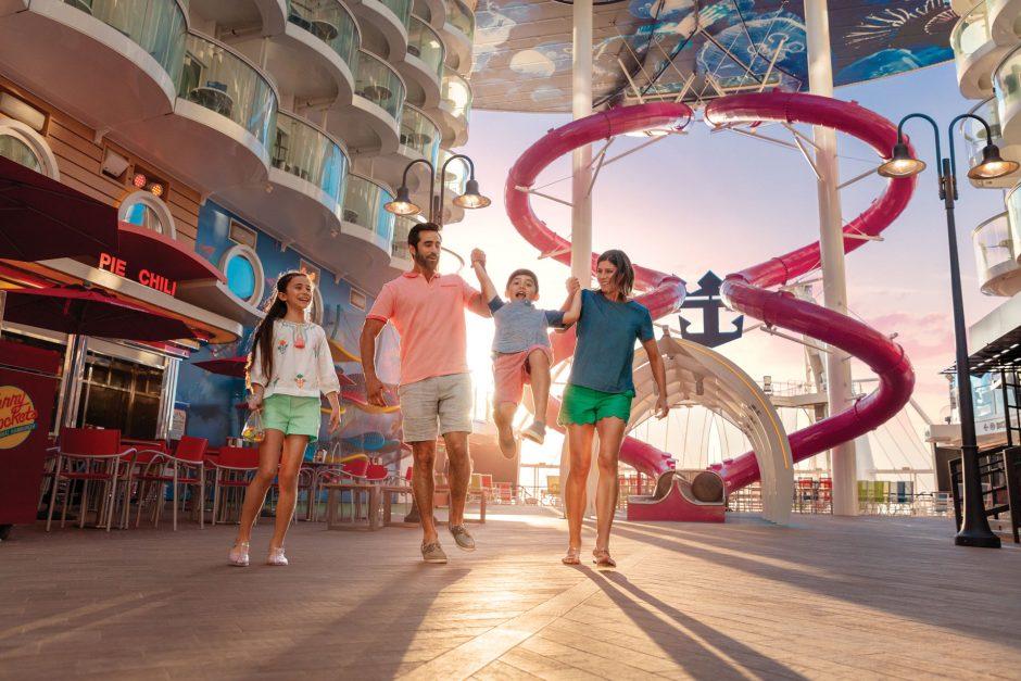Diversão em família: 8 atividades no Cruzeiro Royal Caribbean