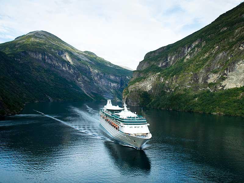 As belezas dos cruzeiros nos fiordes noruegueses
