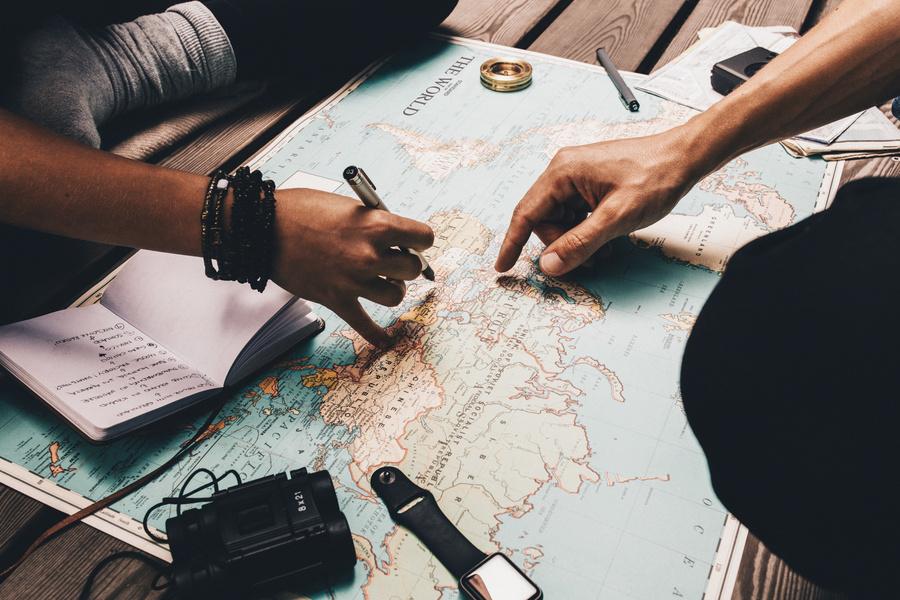 Planejamento de Como se preparar para fazer um cruzeiro internacional