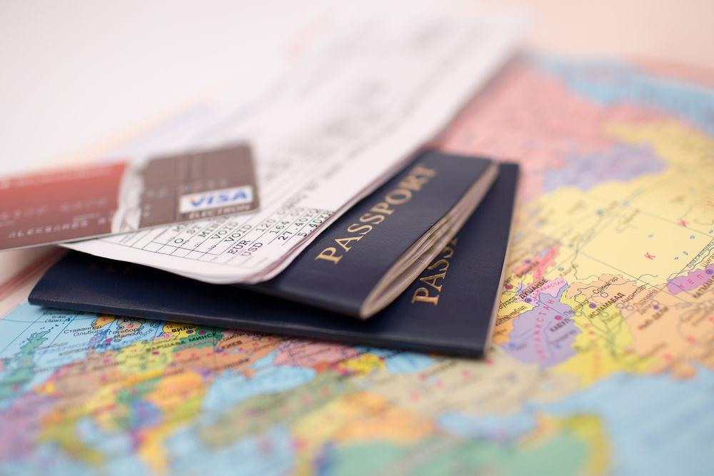 Documentos para viagem de cruzeiro