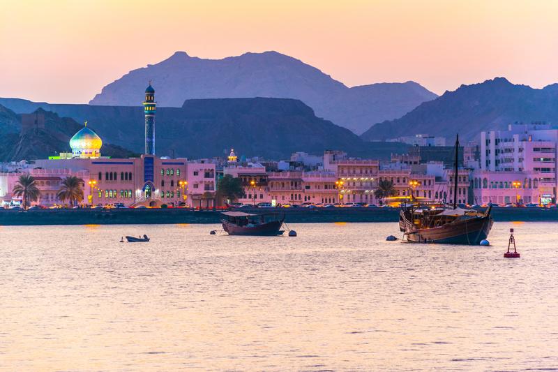Muscat, Golfo Pérsico