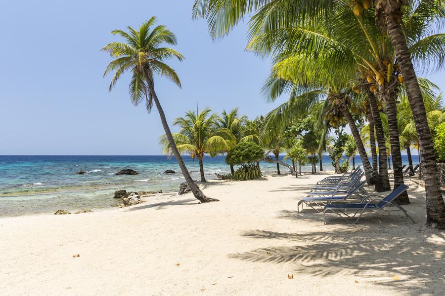 Ilha de Roatán, um dos destinos do Allure of the Seas