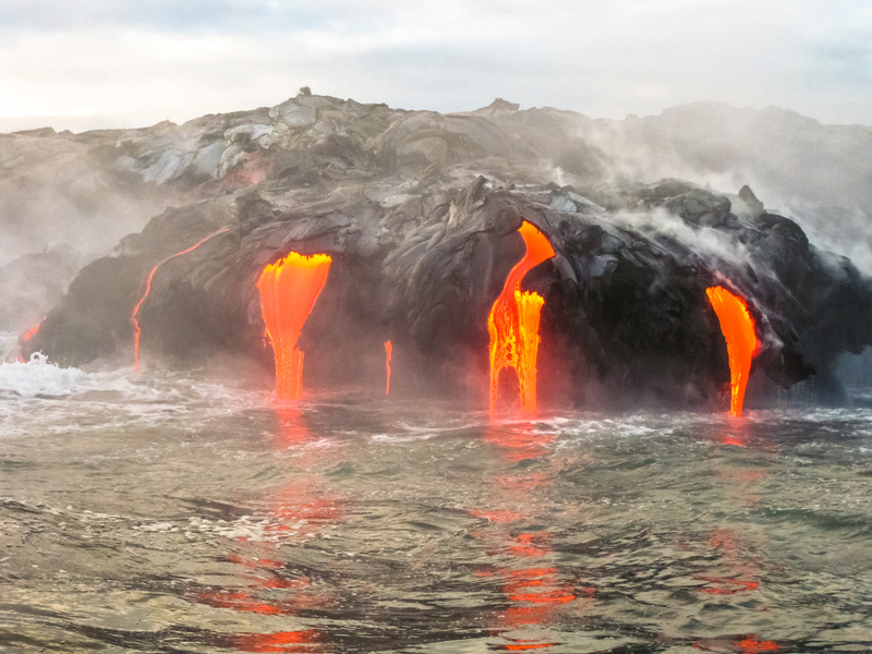 Parque Nacional dos Vulcões, Big Island, Hawaii