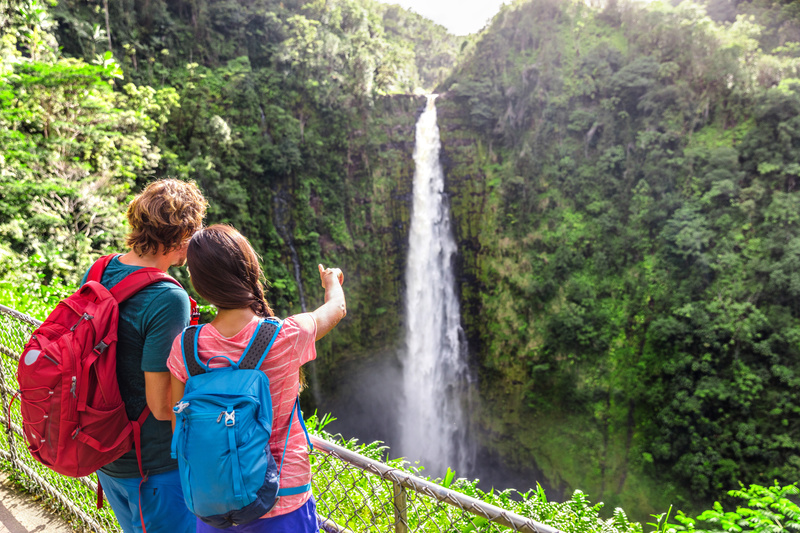 Parque Akaka Falls, Big Island, Hawaii