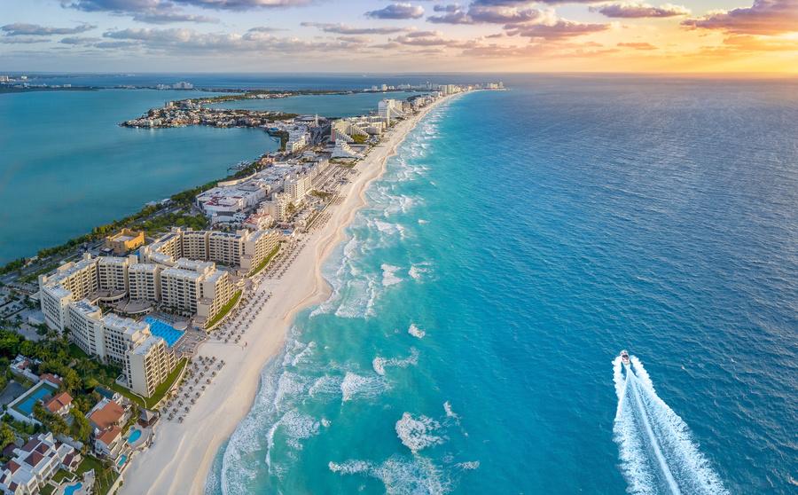 Cancún no Caribe