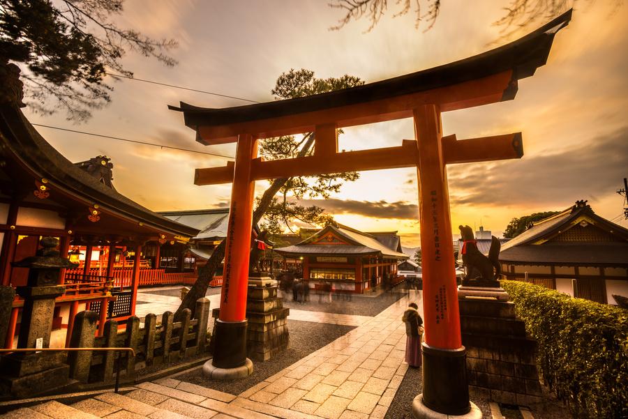 Kyoto, um dos destinos para um cruzeiro na Ásia