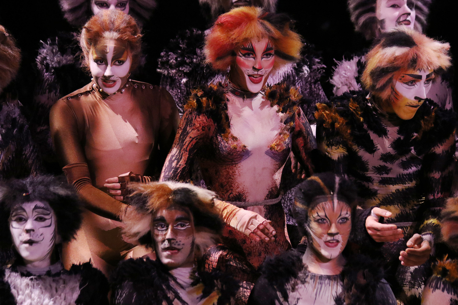 Apresentação Broadway do Oasis of the Seas
