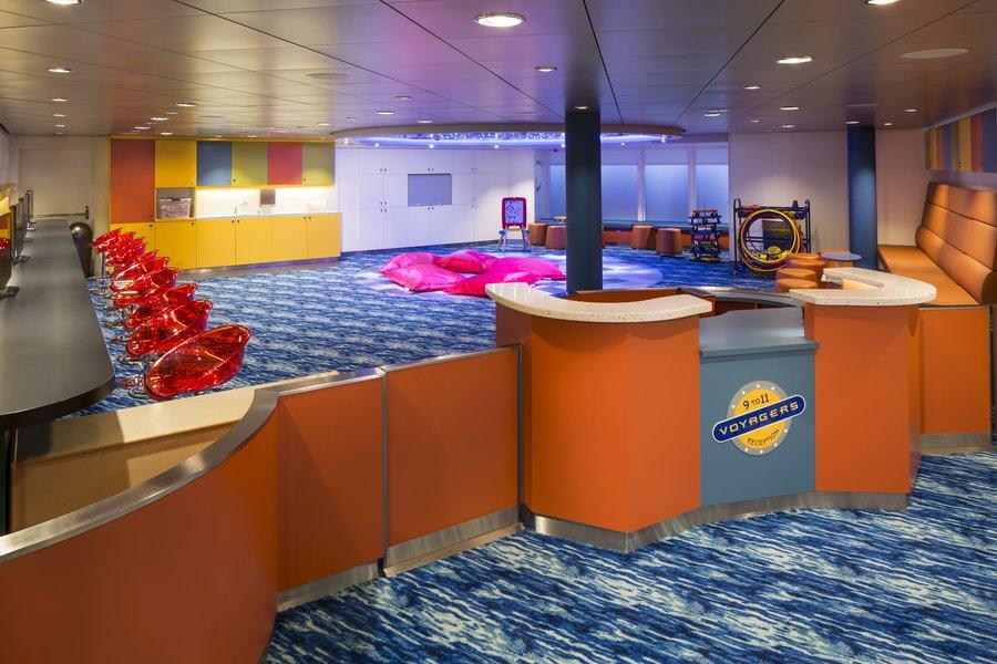 Voyagers é uma das atividades para as crianças dos navios da Royal Caribbean