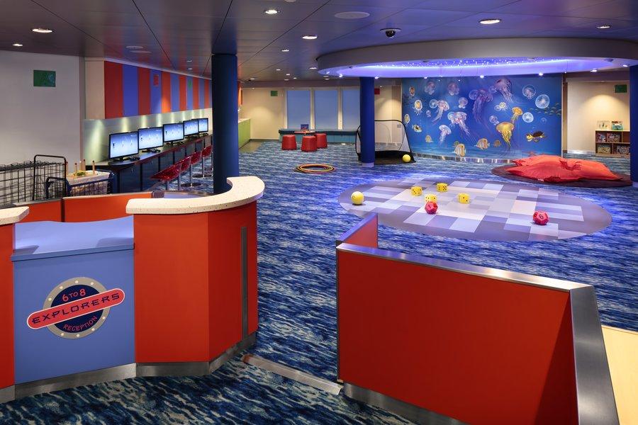 Adventure Ocean é uma das atividades para as crianças dos navios da Royal Caribbean