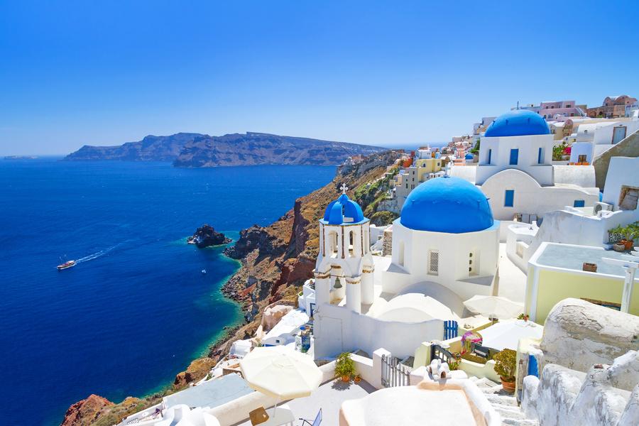 Ilhas Gregas como destino de Lua de Mel