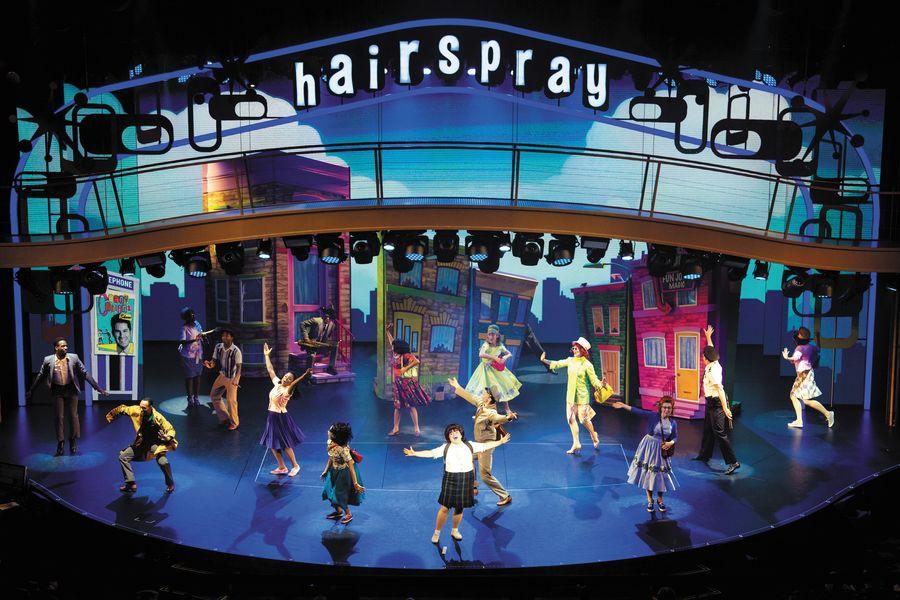Espetáculos da Broadway como entretenimento em uma viagem corporativa