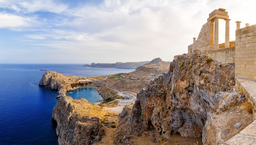 Rhodes, nas Ilhas Gregas