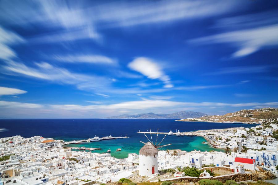 Mykonos, nas Ilhas Gregas